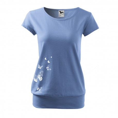Dámské tričko s motivem Motýlího království