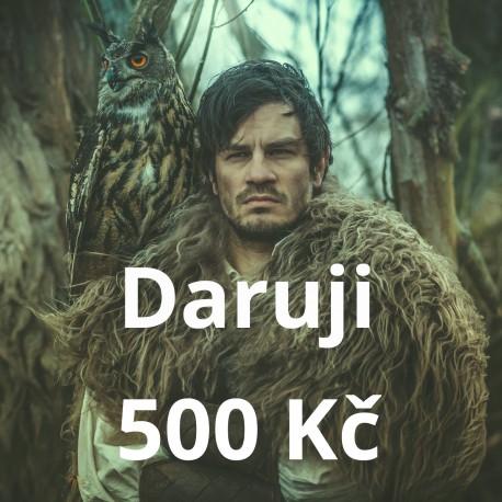 Daruji 500 Kč