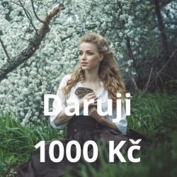 Daruji 1000 Kč