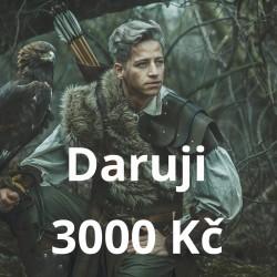 Daruji 3000 Kč