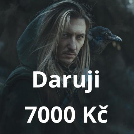 Daruji 7000 Kč