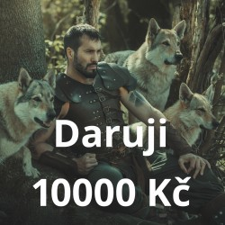 Daruji 10000 Kč