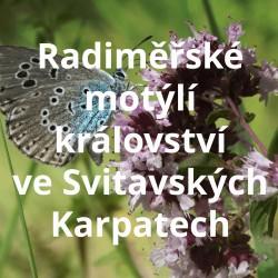Radiměřské motýlí království ve Svitavských Karpatech