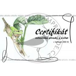 Certifikát rosnička