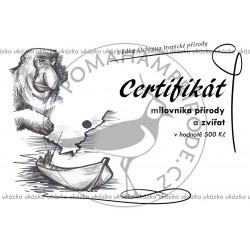 Certifikát tropy ZNO II