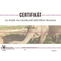 Certifikát slon