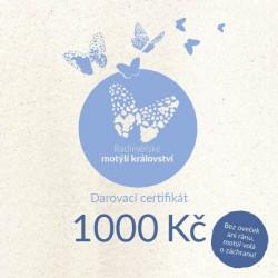 Certifikát pro Radiměř 1000 Kč