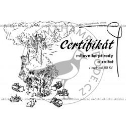 Certifikát tropy