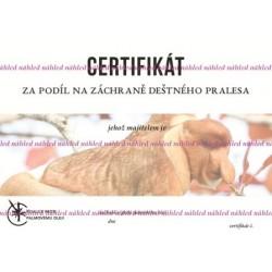 Certifikát kahau