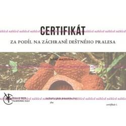 Certifikát rostlina