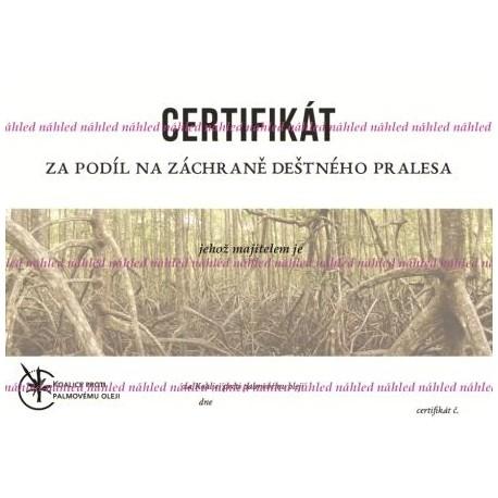 Certifikát mangrovy