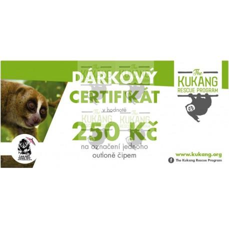 Certifikát Kukang