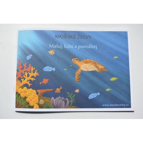 Omalovánky Mořské Želvy